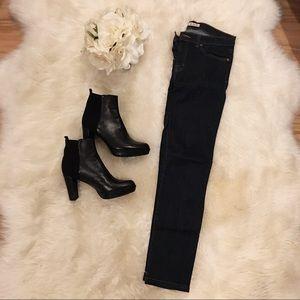 J Brand Skinny Jeans in 'Ink' Color.